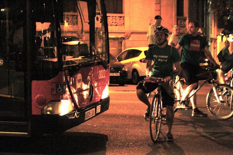 massa critica barcelona bus